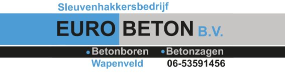 EURO BETON B.V. Sleuvenhakkersbedrijf